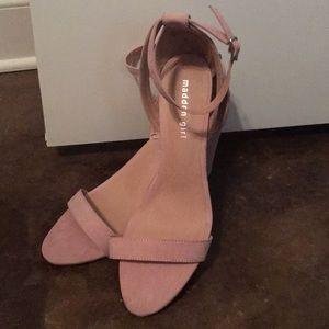 Madden Girl Nude Block Heels